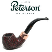 Peterson - Christmas Pipe 2018  -03 Sandblast Fishtail