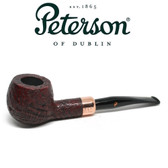 Peterson - Christmas Pipe 2018  - 408 Sandblast Fishtail