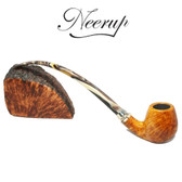 Neerup - Classic Series -  Gr  4 Churchwarden Pipe 2 (Smooth) 9mm