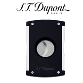 S.T. Dupont - Maxijet - Cigar Cutter - Black & Chrome