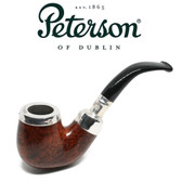Peterson - X220 - Smooth - Silver Cap - Fishtail
