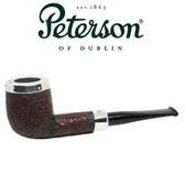 Peterson - X105 - Sandblast - Silver Cap - Fishtail