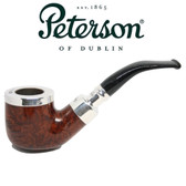 Peterson - 01  - Smooth - Silver Cap Spigot - Fishtail