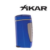 Xikar - Executive II Single Jet Flame Lighter - Blue