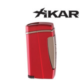 Xikar - Executive II Single Jet Flame Lighter - Red