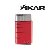 Xikar - Linea -  Single Jet Flame Lighter - Red