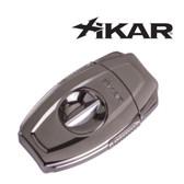 Xikar - VX2 Gunmetal  -  V Cut Cigar Cutter