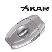 Xikar - VX2 Silver  -  V Cut Cigar Cutter