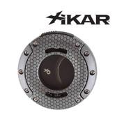Xikar - XO Double Guillotine Gunmetal Honeycomb - Cigar Cutter