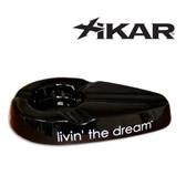 Xikar - Livin' The Dream - Cigar Ashtray - Black
