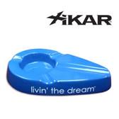 Xikar - Livin' The Dream - Cigar Ashtray - Blue