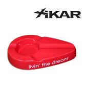 Xikar - Livin' The Dream - Cigar Ashtray - Red