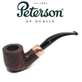Peterson - Christmas Pipe 2018  - 01 Sandblast Fishtail - 9mm