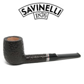 Savinelli -  Joker Rusticated Pipe - 114 - 6mm Filter