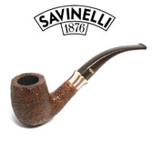 Savinelli -  Caramella Rusticated Pipe - 606 - 6mm Filter