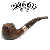 Savinelli -  Caramella Rusticated Pipe - 645 - 6mm Filter