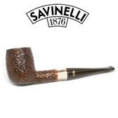 Savinelli -  Caramella Rusticated Pipe - 128 - 6mm Filter