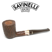 Savinelli -  Caramella Rusticated Pipe - 412 - 6mm Filter