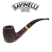 Savinelli -  Sistina Rusticated Pipe - 606 - 6mm Filter