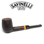 Savinelli -  Sistina Rusticated Pipe - 127 - 6mm Filter