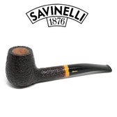 Savinelli -  Sistina Rusticated Pipe - 145 - 6mm Filter