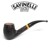 Savinelli -  Sistina Rusticated Pipe - 670 - 6mm Filter