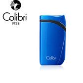 Colibri - Falcon Angled Single Jet Lighter - Metallic Blue