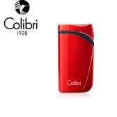 Colibri - Falcon Angled Single Jet Lighter - Metallic Red