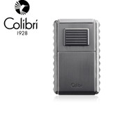 Colibri - Quasar Astoria Tripple Jet Lighter with Cigar Cutter - Gunmetal