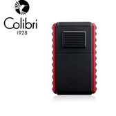 Colibri - Quasar Astoria Tripple Jet Lighter with Cigar Cutter - Black & Red
