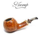 Neerup - Classic  Series -  Gr 3 Bent  Egg Pipe  (Smooth) 9mm