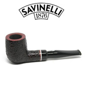Savinelli -  Gaius Rusticated Pipe - 101 - 6mm Filter