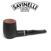 Savinelli -  Gaius Rusticated Pipe - 141 - 6mm Filter
