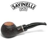 Savinelli -  Gaius Rusticated Pipe - 320 - 6mm Filter