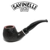 Savinelli -  Gaius Rusticated Pipe - 645 - 6mm Filter
