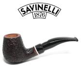 Savinelli -  Gaius Rusticated Pipe - 628 - 6mm Filter
