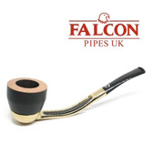 Falcon - Gold Plated  Pipe Set with 2 x  Bowls