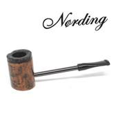 Erik Nørding - Compass Pipe - Poker - Half Rustic #6