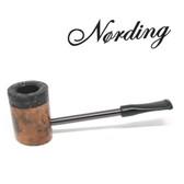 Erik Nørding - Compass Pipe - Poker - Half Rustic #8