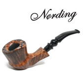Erik Nørding - Freehand Light Brown Smooth (1) - 9mm Filter Pipe