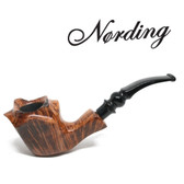 Erik Nørding - Freehand Light Brown Smooth (2) - 9mm Filter Pipe