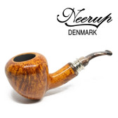 Neerup - Classic Series -  Gr 2 Bent Acorn Pipe (Smooth) 9mm
