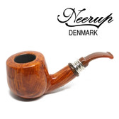Neerup - Classic  Series -  Gr 3 Bent  Pot Pipe  (Smooth) 9mm