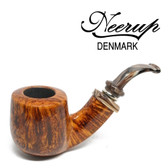 Neerup - Classic  Series -  Gr 3 Bent  Pot Pipe 1 (Smooth) 9mm