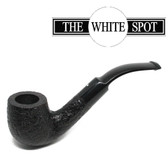 Alfred Dunhill - Shell Briar - 3 202 (2) - Group 3 - Bent Saddle Stem - White Spot