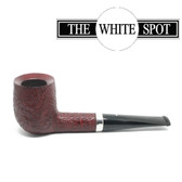 Alfred Dunhill - Ruby Bark - 5 103  - Group 4 - Billiard - White Spot - Silver Band