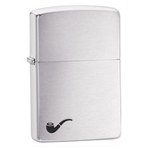 Zippo - 200PL Brushed Chrome Pipe Lighter