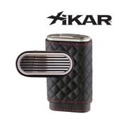 Xikar - Envoy Triple Cigar Case - High Performance Quilted Black