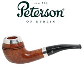 Peterson - XL14 - Smooth (Natural)  - Silver Cap - Fishtail - 9mm Filter