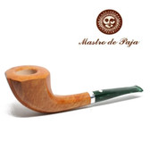 Mastro de Paja - Unica - Natural Finish & Green Stem - 9mm Filter